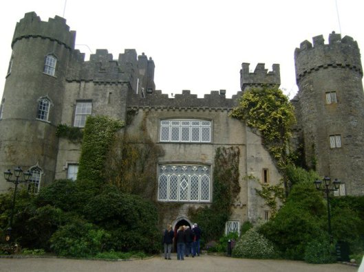 the castle of malahide in dublin.