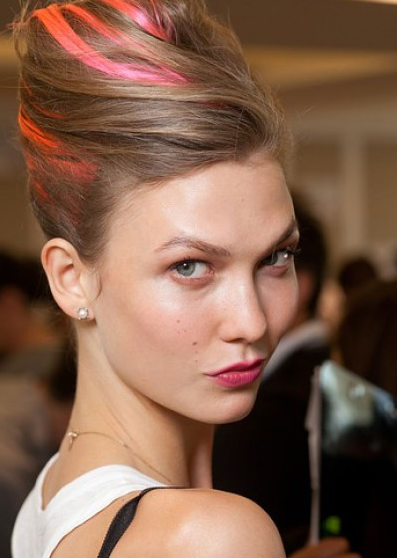 Spring 2013 Oscar de la Renta, image courtesy of beauty high as seen on www.stylist.com