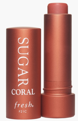 fresh sugar tinted lip treatment spf 15 in coral, $22.50