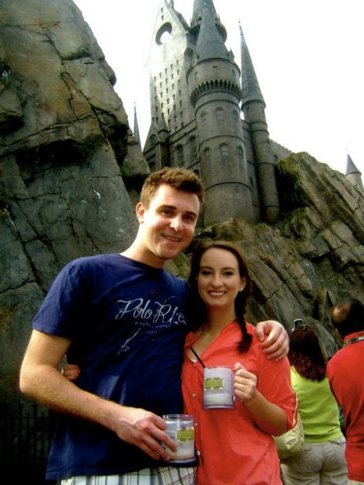 February 2012 -- We also went to the Wizarding World of Harry Potter because it's AMAZING.